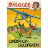 Biggles nr 2 Operation Guldfisken (1978) 1:a upplagan omslagspris 12:75
