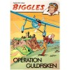 Biggles nr 2 Operation Guldfisken (1978) 2:a upplagan omslagspris 16:75