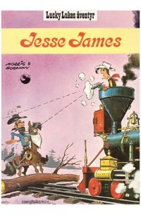 Lucky Luke nr 4 Jesse James (1986) 4:e upplagan